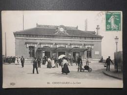 94 - Choisy Le Roi - CPA - La Gare N° 10 - ELD - 1908 - B.E - - Choisy Le Roi