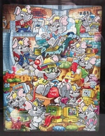 Maxi Puzzle Souris 2001 : Grand Format ( 32 Cm X 24,5 Cm ) SUPERBE !!! - Maxi (Kinder-)