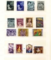 1953 - 1979  Weihnachtsbtiefmarken - Weihnachten