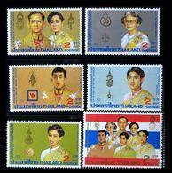 Thailand Stamp 1987 HM King 60th Birthday Ann 3rd - Thailand
