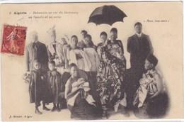 Algérie - Béhanzin Ex Roi Du Dahomey - Sa Famille Et Sa Suite - Algiers