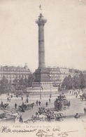 PARIS // La Plce De La Bastille - Squares