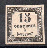 FRANCE - YT Taxe N° 3B Signé - Neuf * - MH - Cote: 225,00 € - 1859-1955 Neufs