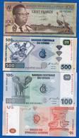 Conco  10  Billets  Dans  L'etat - Congo