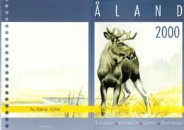 2000: Aland - Map - Finnland
