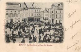 Belgique - Dinant - Le Marché De La Place St. Nicolas - Dinant