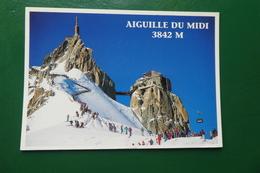 L AIGUILLE DU MIDI CHAMONIX HAUTE SAVOIE ECRITE EN 1997 - France