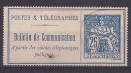 France Timbre Postes & Télégraphes N° 16° - Télégraphes Et Téléphones