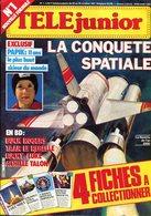 Téléjunior Nouvelle Formule N°1 - BD: Droles De Dames, Buck Rogers, Taar Le Rebelle , Lucky Luke, Achille Talon - Autre Magazines