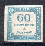 FRANCE - YT Taxe N° 9 - Neuf Sg - Cote: 110,00 € - Taxes
