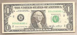 USA - Banconota Circolata Da 1 Dollaro New York - New York P-474aB - 1985 - Bilglietti Della Riserva Federale (1928-...)