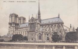 PARIS // NOTRE-DAME // L'Abside - Notre Dame De Paris