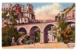 4641 - Monaco - Pont Et Chapelle Sainte-Dévote - N°703 - - Hafen