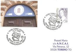 ITALIA - 2000 CUNEO Domenicarchivio Giubilare - Antichi Volumi - Stamps
