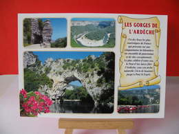 France > [07] Ardèche > Défilé De Ruoms,boucle De La Madeleine, Pont D'Arc - Non Circulé - France