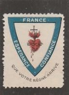 VIGNETTE QUE VOTRE REGNE ARRIVE - Commemorative Labels