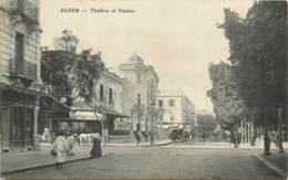ALGERIE  ALGER THEATRE ET CASINO - Algerien