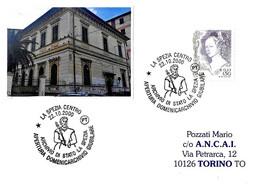 ITALIA - 2000 LA SPEZIA Apertura Domenicarchivio Giubileo 2000 - Personaggio Con Scettro - Stamps