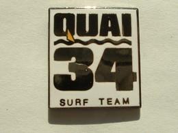 Pin's QUAI 34 SURF TEAM - EMAIL - Pin
