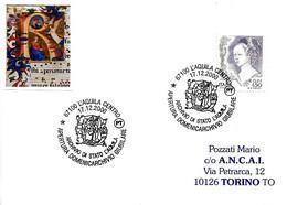 ITALIA - 2000 L'AQUILA Domenicarchivio Giubilare - Antica Miniatura - Francobolli