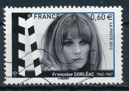 France - Acteurs Français - Françoise Dorléac YT 4690 Obl. Ondulations - France