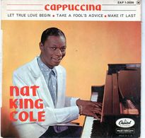 Nat King Cole - Cappuccina - Capitol EAP 1-20209 - 1962 - Jazz