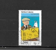 4051  OBL  Y & T Les Voyages  De Tintin Tintin Et Milou   15b/05 - Used Stamps
