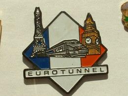 Pin's TGV EUROTUNNEL - TGV