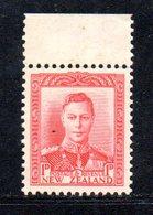 CI1035 - NUOVA ZELANDA 1938 , 1 P.  Yvert N. 238    *** (2380A) - 1907-1947 Dominion