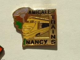Pin's TGV - AMICALE TRAINS NANCY - TGV