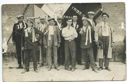 CARTE-PHOTO - CONSCRITS 1933 - NON SITUEE - Frankreich