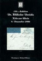 130. Derichs Auktion 2006 - Auktionskataloge