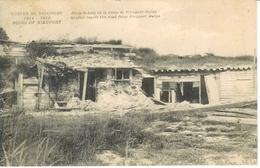 Cpa Nieuport - Belgique  , Ww1 , Abris Le Long De La Route De Nieuport-Bains , Voyagée 1919 - Nieuwpoort