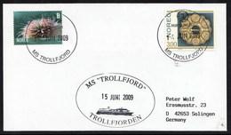 """MS """" TROLLFJORDEN """", 2009, With Cachet , Look Scan !! 14.2-04 - Briefmarken"""