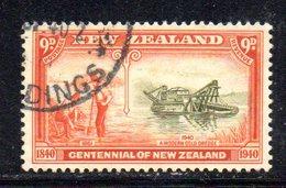 CI1037 - NUOVA ZELANDA 1936 , 9 P.  Yvert N. 223   Usato (2380A) Multi NZstar - Usati