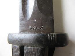 BAIONNETTE      Et     FOURREAU - Knives/Swords