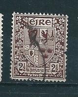 N° 82 Armoiries Des Quatre Provinces(filigrane E)  Timbre Irlande (1941) Oblitéré - 1937-1949 Éire