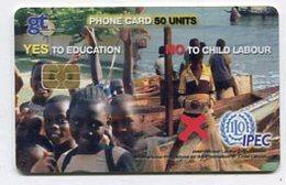 TK 07481 GHANA - Chip 08/05 - Ghana