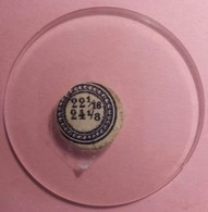 Verres De Montre à Gousset 4.80 Cm De Diamètre 22/24 (1/16)-(1/8) (Proche Du Neuf Jamais Monté) - Unclassified