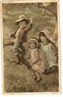 """154- Enfants Sur Une Branche """"Photogravure P.Tarrant Pinx - Groupes D'enfants & Familles"""