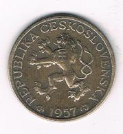 1 KORUN 1957  TSJECHOSLOWAKIJE /4195/ - Tchécoslovaquie