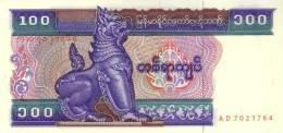 MYANMAR  P. 74a 100 K 1994 UNC - Myanmar