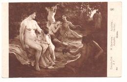 SALON 1914  - M. BERTHON  - AUTUNNO - NUDO NU -- R439 - Quadri