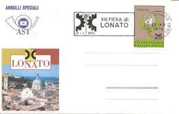 ITALIA - 1970 LONATO (BS) XIII Fiera Di Lonato (ingranaggio) - Annullo A Targhetta - Holidays & Tourism