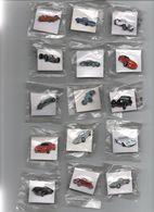 Pin's Automobiles Voitures Course Traction éditions Atlas, Magnifique Lot Neuf + 1 Porte Clé.....BT12 - Pin's
