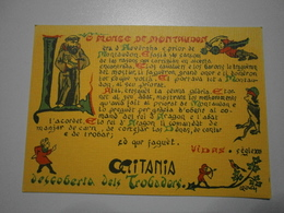 Occitanie, Découverte Des Troubadours. Occitania, Descoberta Dels Trobadors. Lot De 5 Cartes (GF686) - Europe