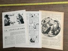 1907 JST LE VEGETARISME GUERIT IL LA VIEILLESSE ILLUSTRATIONS BENJAMIN RABIER ET LM - Vieux Papiers