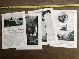 1907 JST LES VEILLEURS DE L INFINI PHARE LOST PIC GARDIEN DE PHARES - Alte Papiere