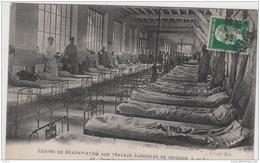 GRIGNON CENTRE DE READAPTATION AUX TRAVAUX AGRICOLES DORTOIRS DE SOLDATS BLESSES 1923 TBE - Grignon