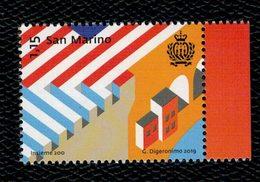 San Marino 2019 Together 200 - Insieme 200 1v Complete Set ** MNH - San Marino
